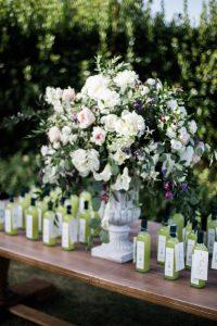 Limocello bottles wedding favor-luxury wedding ravello-villa cimbrone