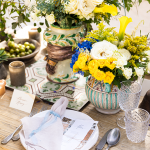 Sicilian style table escape-luxury wedding at Dimora delle Balze by italian weddings and events