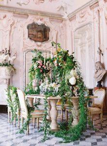 VillaSolaCabiati-Lavish-botanical-floral-decoration-lake-como-wedding