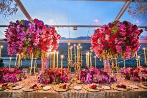 Karen Tran decoration at Castadiva- Luxury wedding lake como – italian weddings and events