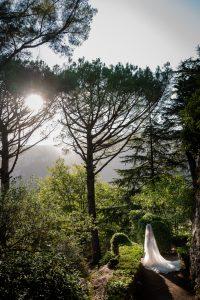 The Bride-wedding in Ravello-villa cimbrone