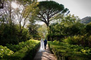 Villa Cimbrone magical gardens-wedding in ravello