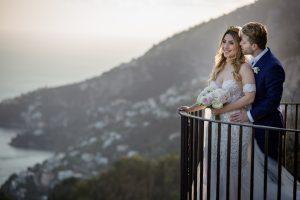 Wedding in Ravello Villa Cimbrone-belvedere terrace