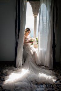 Wedding in Ravello Villa Cimbrone-getting ready